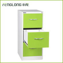 China office furniture 3 drawers lateral metal file cabinet
