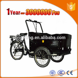 hot selling cargo trike/cargo bike /cargo tricycle with rain tent