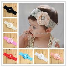 Lastest Nice Baby Girl Flower Headband /Kids Hair Accessories