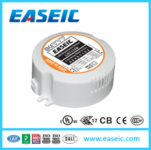 Plastic Case Round Shaped Led Driver 11W 500mA Constant Current Triac Dimmable LED Power Supply