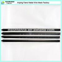 AU standard 1650mm black bitumen 2.04kg/m steel star picket