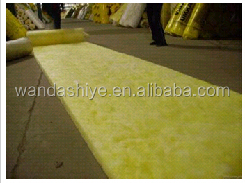 Heat insulation fiberglass wool price For Fireproof Material