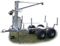 XFR-015 tersion axle trailer/long chih trailer/forest trailer