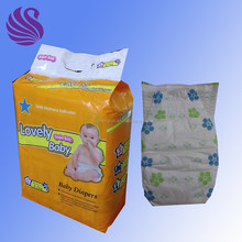 Top Grade Disposable Baby Diapers with Lovely Cartoon