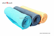 2015 new products! microfiber sand wash 350gsm custom yoga pillow towel