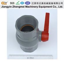 ChangCheng high quality PVC Grey Ball Valve /Pipe Fitting