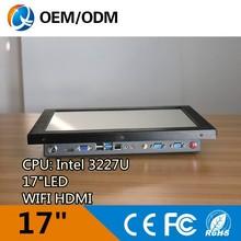 intel i3 cpu 17inch core i3 i5 i7 desktop computer all in one PC