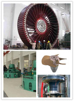 manufacture axial flow water turbine with kaplan axial flow