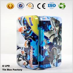 wholesale eco friendly pencil tin box