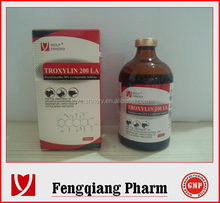 Oxytetracycline Injection 20% poultry tetracycline injection
