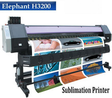 Economical large format 3.2M Dye sublimation Print textile inkjet printer