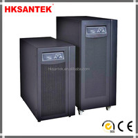 High Frequency Single Phase Pure Sine Wave Numeric Online UPS 6KVA,LCD Display