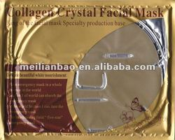 skin care bio collagen crystal facial mask factory