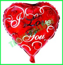 18 inches heart shape Love balloon