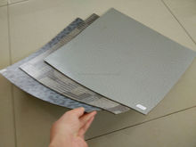 anti-static waterproof non-slip pvc fiberglass backed vinyl flooring