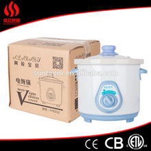 alibaba manufacturer high quality electric slow cooker for baby porridge or soup