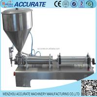 Single head pneumatic paste filling machine