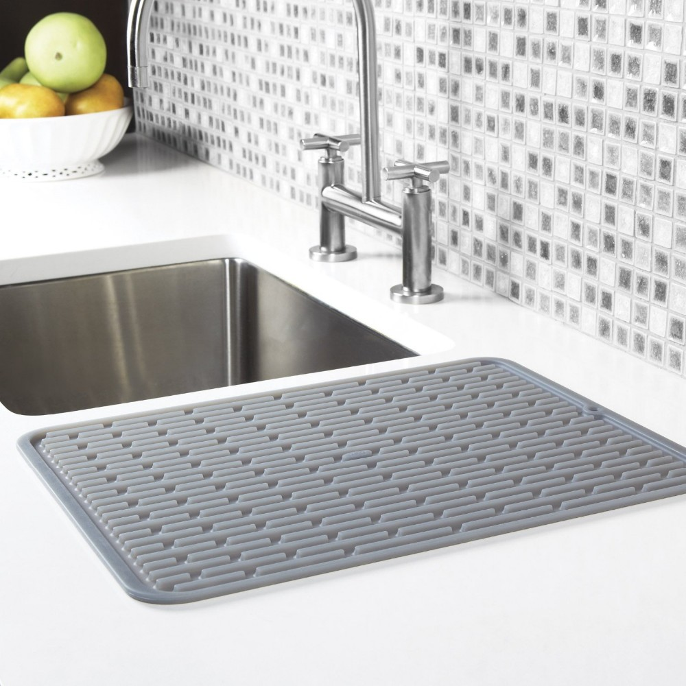 Kitchen Sink Mats Rubber Sink Mats Silicone Dish Drainer - Buy ...