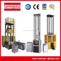 Drop hammer impact test machine for ferritic steel and pipeline steel