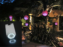 Chinese paper lantern LED Submersible lights for party and holiday celebration