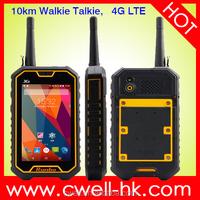 4G LTE Android Smartphone IP67 Waterproof NFC Runbo X6 VHF/UHF Walkie Talkie 2GB RAM/16GB ROM