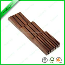 for sale nature bamboo kitchen knife block/knife holder