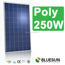 Best quality cheap price per watt poly solar panels 250w