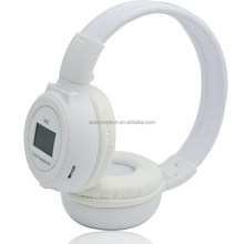 original sound NOICE REDUCTION,noise cancellation styish earphone with LCD screen