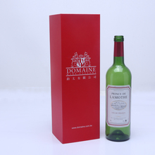2015 delicate folding wine glass packaging boxes