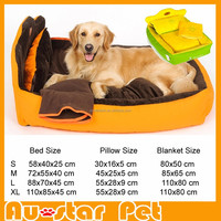 High Quality Wholesale in China Super Soft Pet Sleeping House Luxury Big Dog Bed