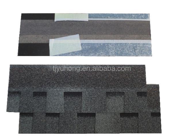 Laminated asphalt roofing shingles