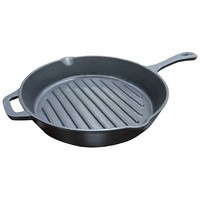 cast iron skillet sizzle plate / skillet plate / grill skillet