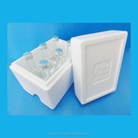 EPS insulated styrofoam box for fish or cooler food