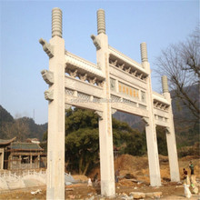 Chinese Large Granite Archway Natural Stone Arch