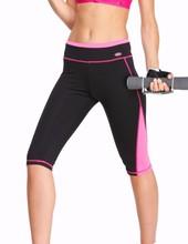 Yvette Women's Professional Workout Knee Tight Leggings #8025 - Anti-bacterial