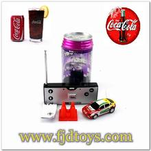 2015 Wholesale WLtoys 2015-1A 1:63 4 Channel Coke Can Mini RC Car For Kid