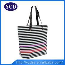 Shengzhen recyclable shopping handbag 2015 promotional fashion bag