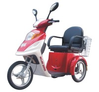 hot selling 48v 20Ah good performance old or disabled high quality 350w brushelss 3 wheel electric moped scooter