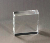 high quality blank square crystal block