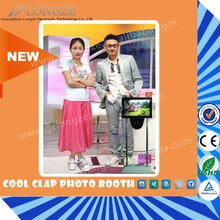 Longze Newest International Standard Acylic Photo Booth Frame
