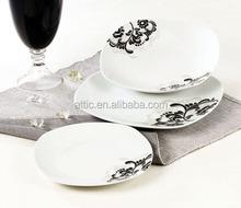 Porcelain Tableware Dinner Set 18 pcs,Good Quality Dinnerware for 6 persons