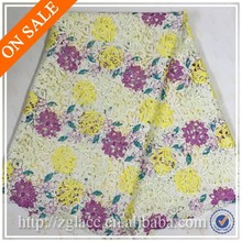 Embroidered Technics African Swiss lace