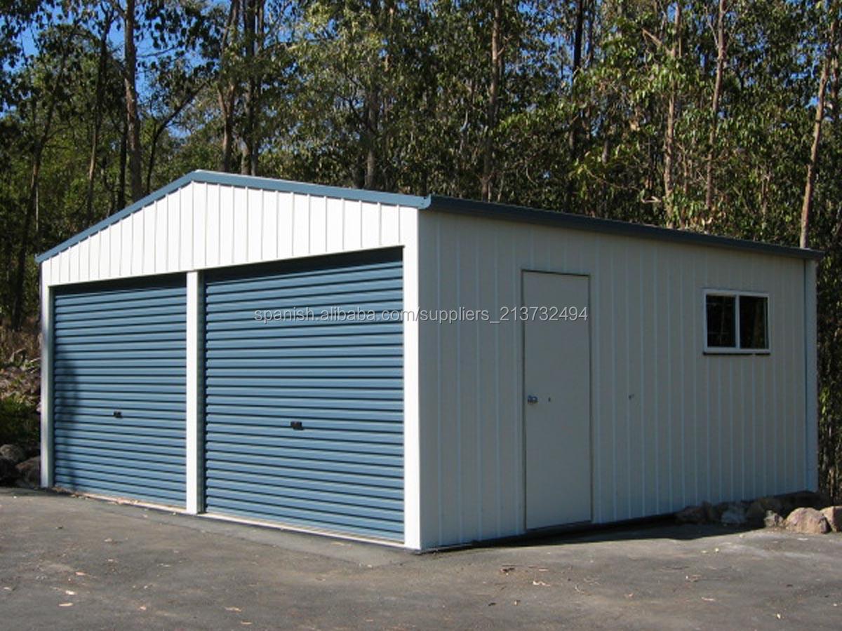 Garaje portatil materiales para la renovaci n de la casa - Cocheras de madera prefabricadas ...