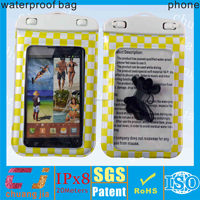 High quality pvc waterproof case for lg nexus 5 with layard