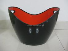2015 New design inflatable beer Ice Bucket/Oval Plastic ice Bucket/Shoe-shaped gold ingot ice bucket