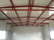 steel prefabricated warehouse with long span