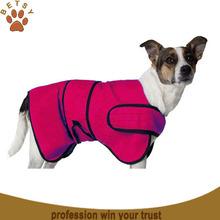 2015 hot sale microfiber pet dog for bathrobe wholesale