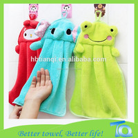 Creative Coral Fleece Suspended Kitchen Hand Towel Manufacturer