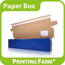 Custom Packing Corrugated Paper Box With Window