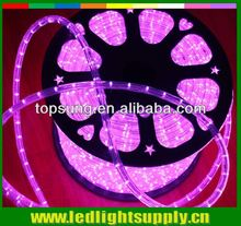 24v pink Round led ropelight manufacturers blue led rope lighting